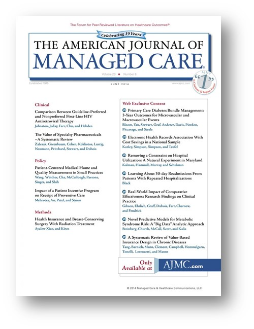 American Journal for Managed Care Metabolic Syndrome Article