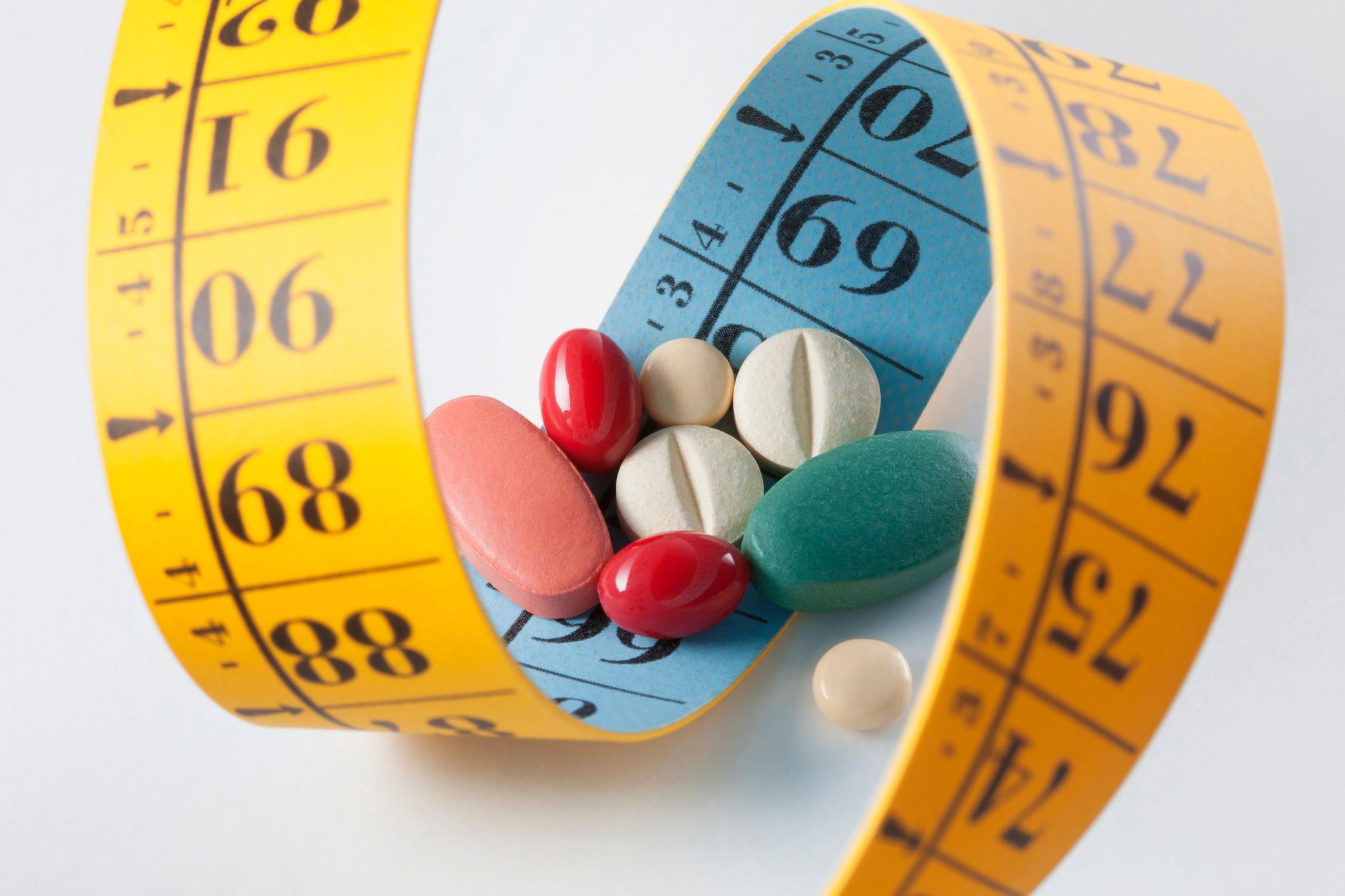 drugs measuring tape